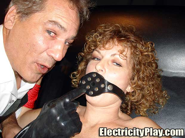 Electricity Play Dr. Sparky Gags and Fucks a Fan